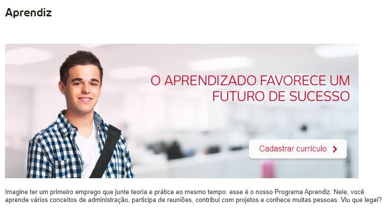 Inscrição Jovem Aprendiz Bradesco 2021