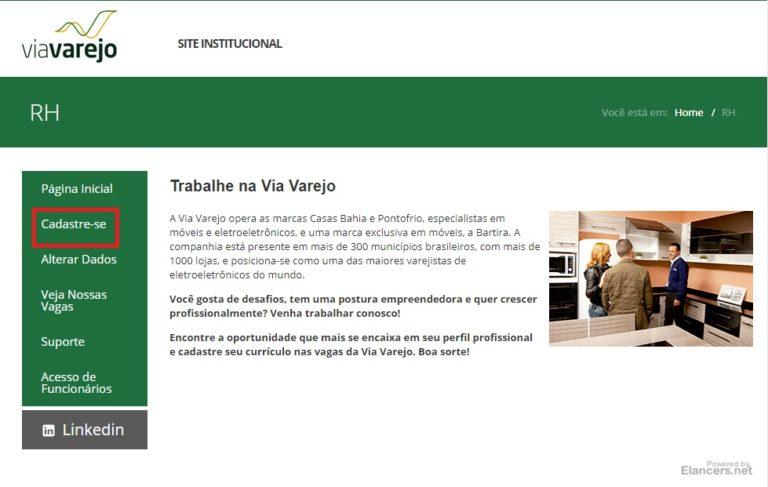 Inscrições Jovem Aprendiz Casas Bahia 2021