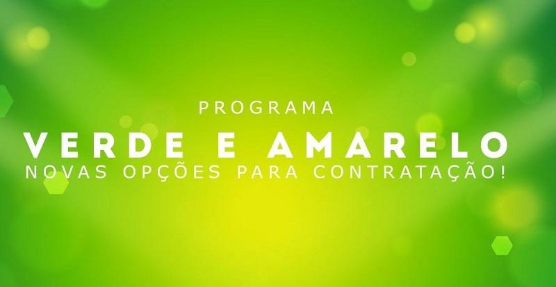 Inscrição Programa Verde e Amarelo 2021